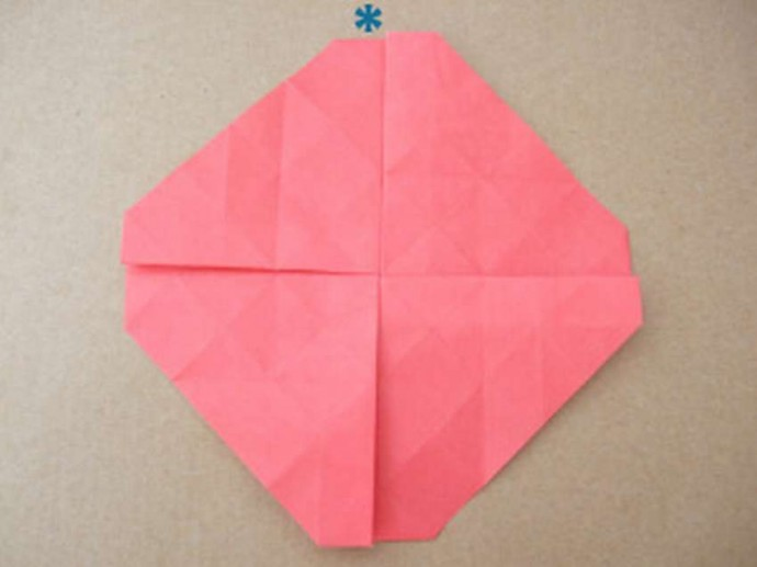 Делаем розу оригами 7
