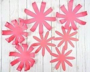 Хризантемы из бумаги 1