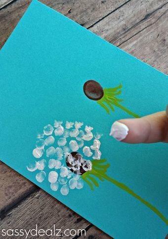 Милые идеи для пальчиковых картин: рисуем с малышами