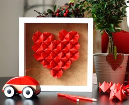 Создание поделок из сердечек