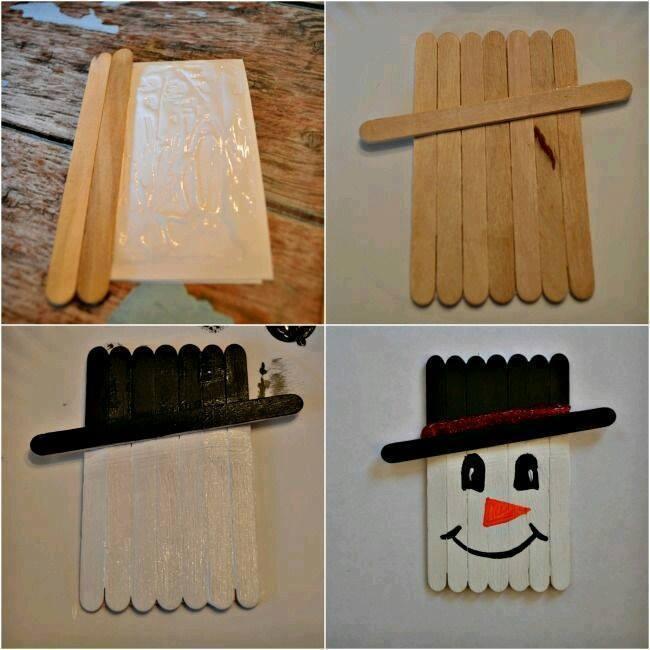 Палочки из-под мороженного: идеи 5