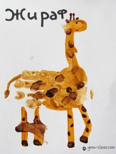 Рисуем ладошками с детьми: идеи