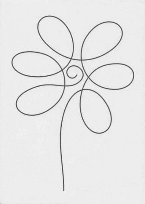 Безотрывные рисунки или рисунки одной линией