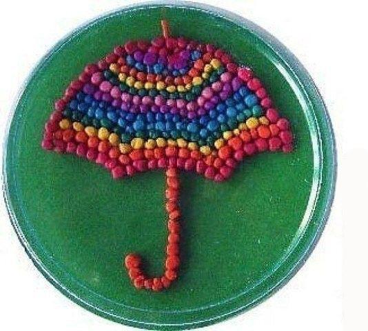 Идея картинок из шариков пластилина 4