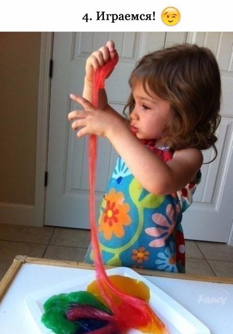 Тянучка детскими руками 3