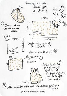 Самые простые в пошиве тканевые курочки