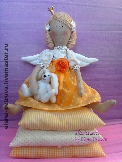 Шьем с детьми куколку тильду ангелочка