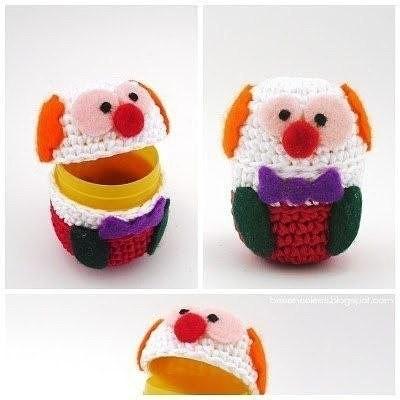 Веселые вязаные игрушки из киндер-сюрпризов: идеи