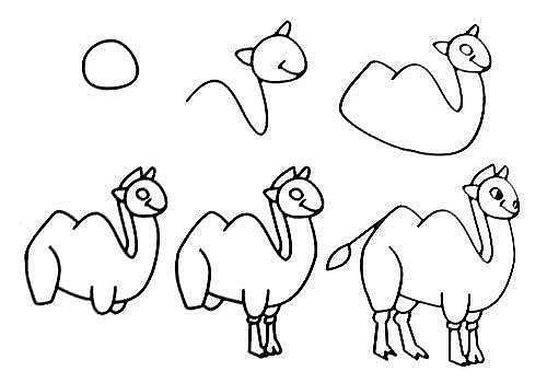10 примеров, как нарисовать зверей поэтапно 4