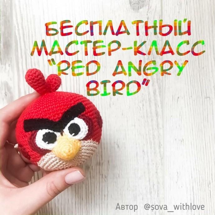 Angry bird, связанная детскими руками
