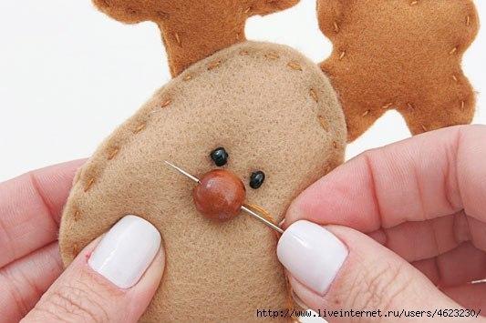 Мягкая игрушка детскими руками 4