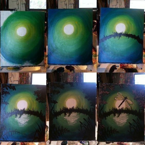 Рисуем с детьми самые разные картины акварелью