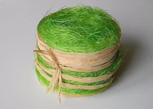 Шкатулка-корзинка из бобины от скотча
