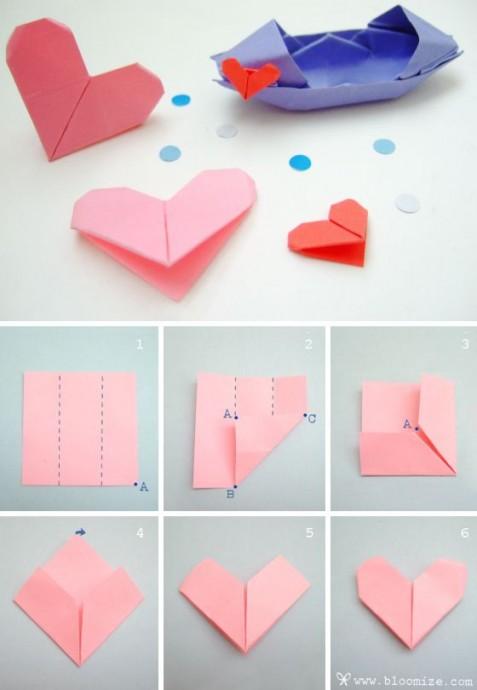 Закладки-оригами 3