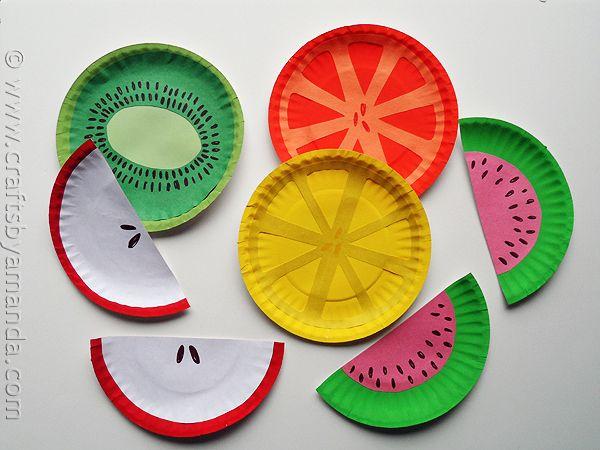 Идеи детских поделок из одноразовых тарелок 5