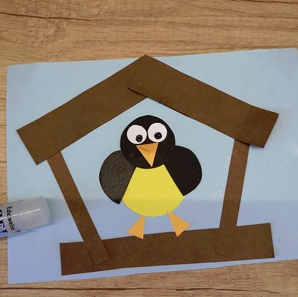 Птичка в домике 2