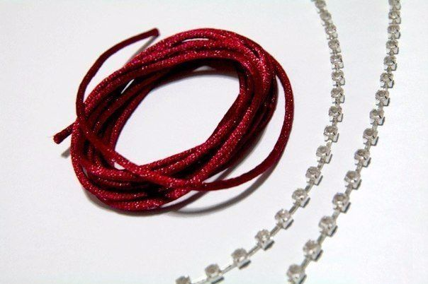 Плетём браслет 1