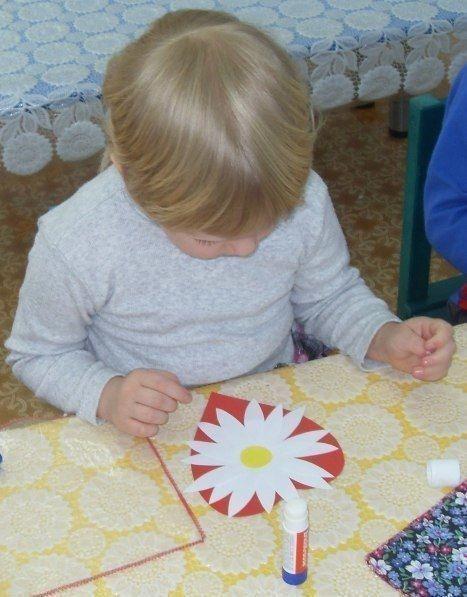 Сердце с цветком