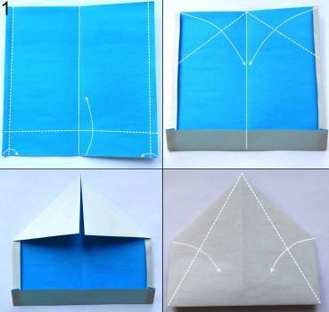 Снегурочка в технике оригами 1