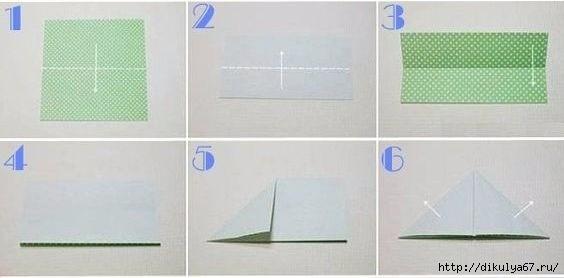 Коробочки-короны в технике оригами