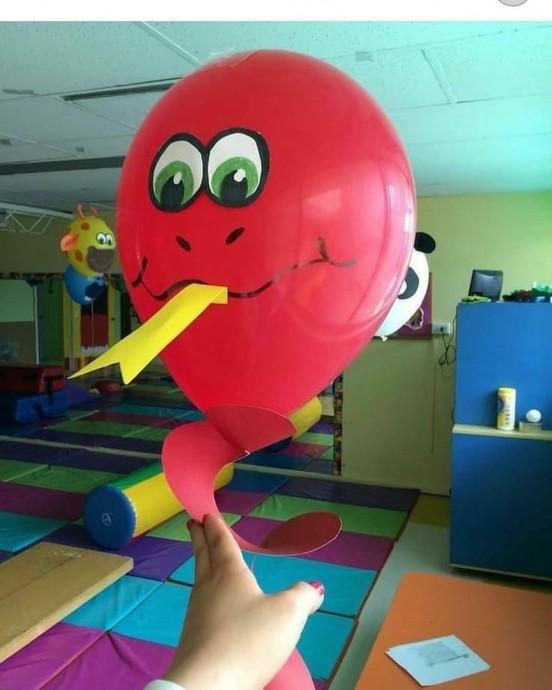 Веселые поделки из воздушных шариков 4
