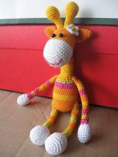 Вяжем жирафика