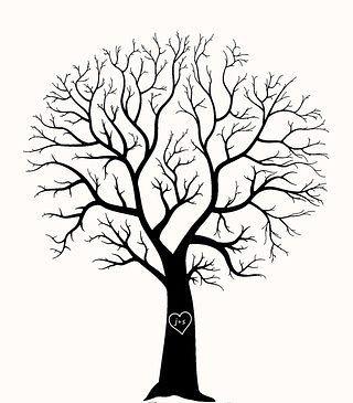 Пальчиковое дерево: рисуем отпечатками