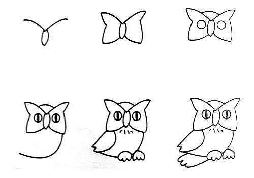 10 примеров, как нарисовать зверей поэтапно 0