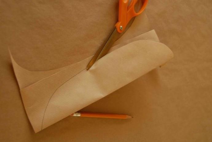 Пёрышки бумажные 1