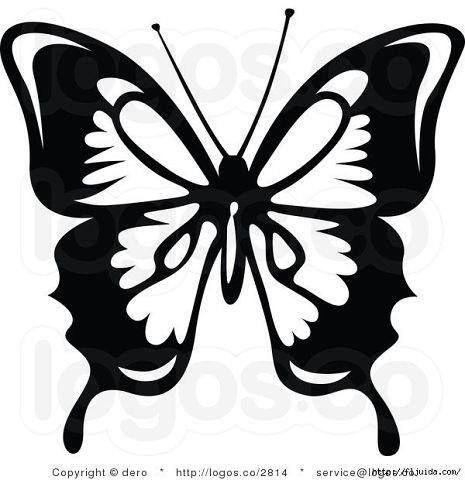Бабочки с шаблонами