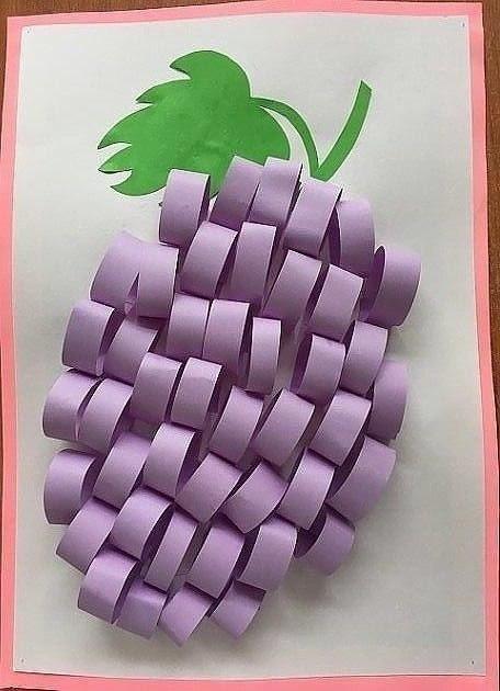 Идеи аппликаций из полосок цветной бумаги 2