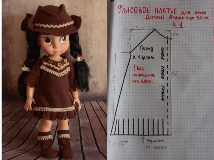 Шьем одежду для куколок 4