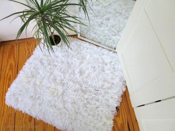Как сделать простейший коврик с детьми
