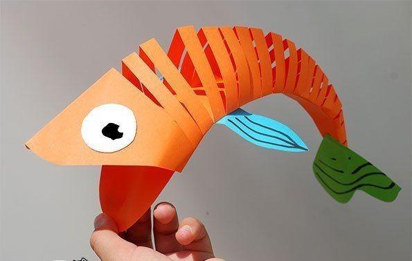 Подвижная рыба: мастер-класс
