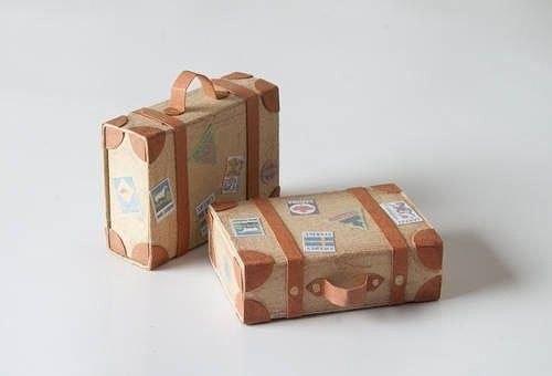 Чемоданчик из спичечных коробков