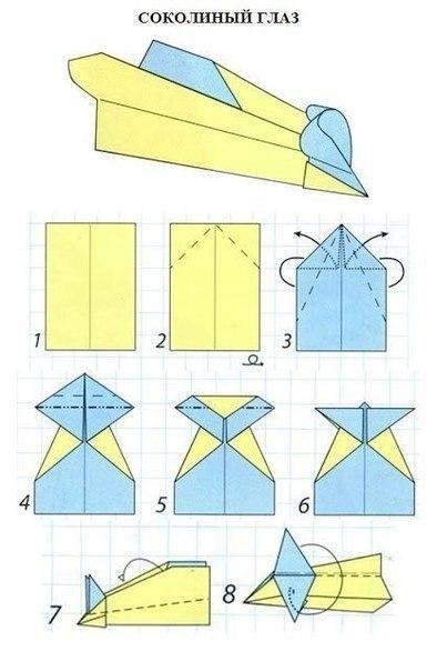 Модели бумажных самолетиков
