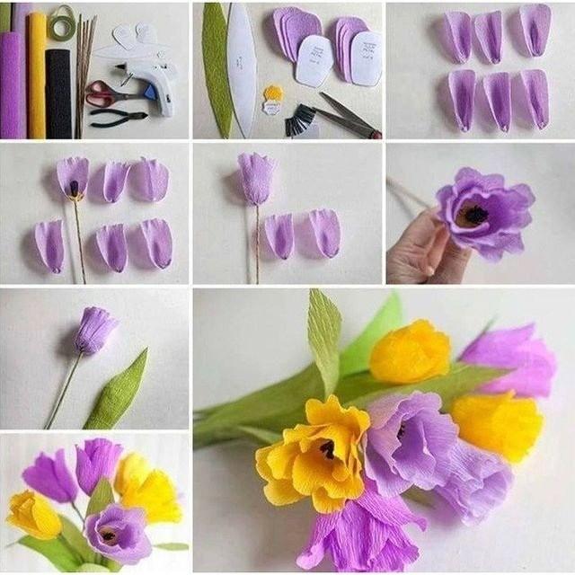Мастер-классы по изготовлению цветов из бумаги