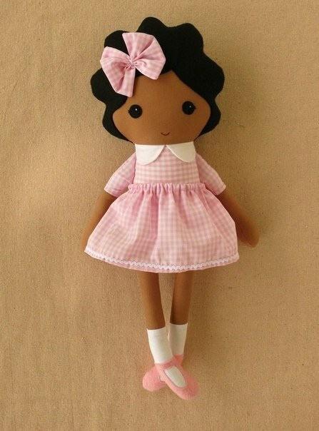 Простая примитивная кукла