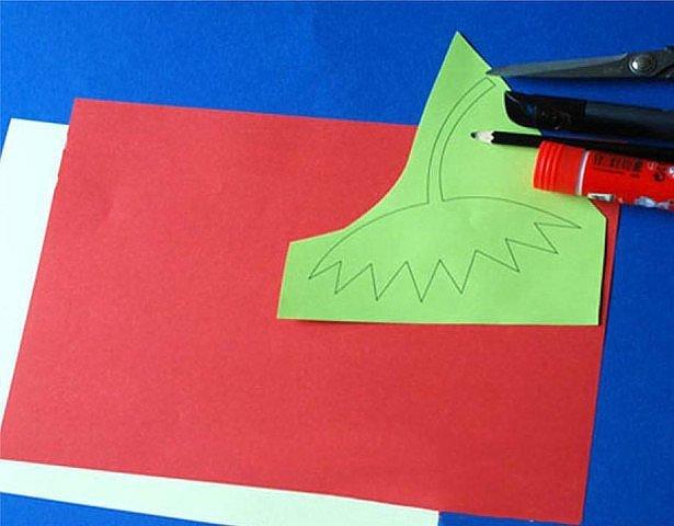 Объемная клубника из цветной бумаги