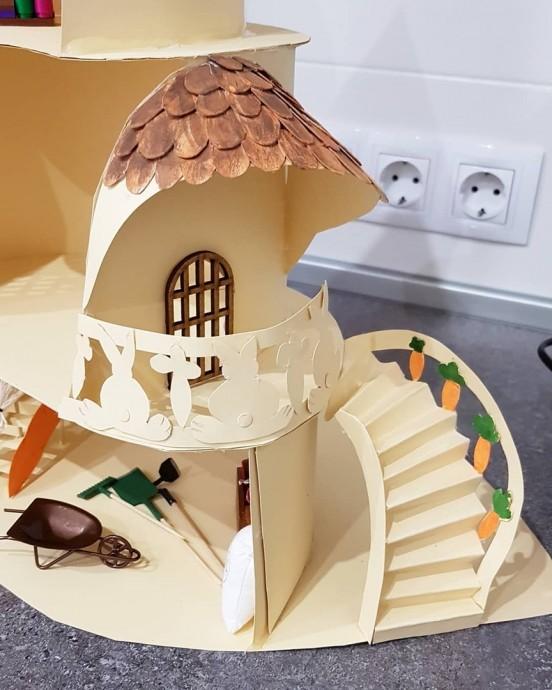 Чудесный домик из бумаги