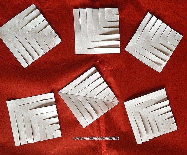 Очень красивые объёмные снежинки из бумаги 5