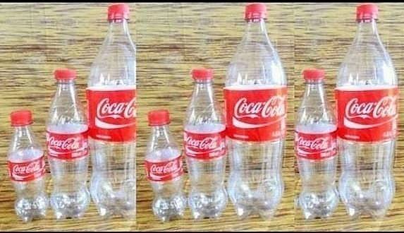 Сервиз из пластиковых бутылок