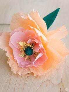 Делаем из бумаги красивые цветы с детьми