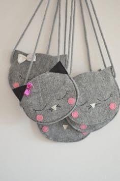 Детские сумочки из фетра