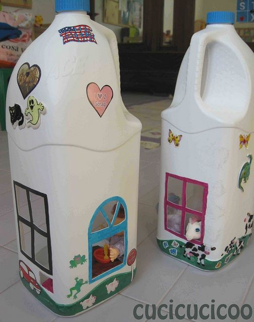 Дома из пластиковых бутылок
