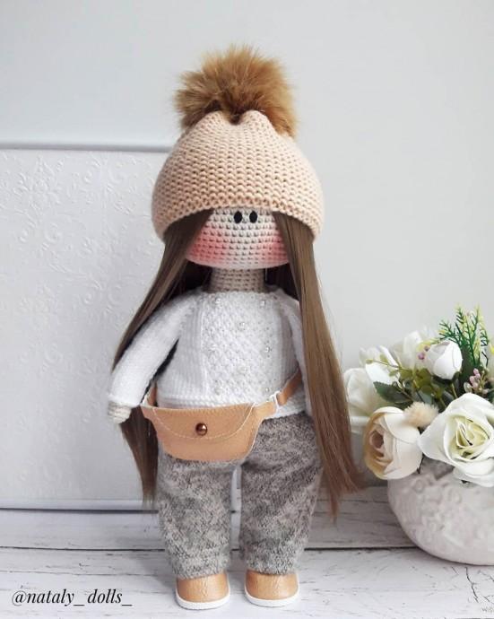 Поясная сумочка для куклы