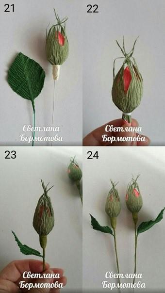 Букет роз с цветами и бутонами