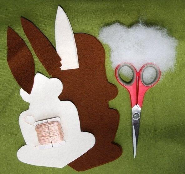 Шьем серьезного кролика