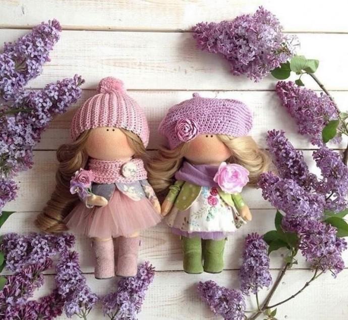 Подборка выкроек текстильных кукол