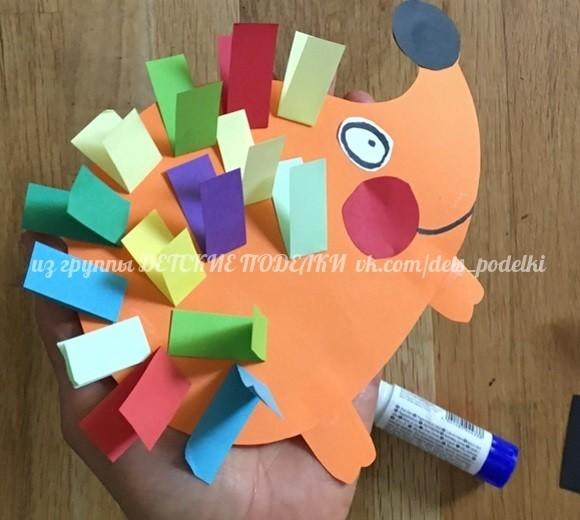 Разноцветный ежик